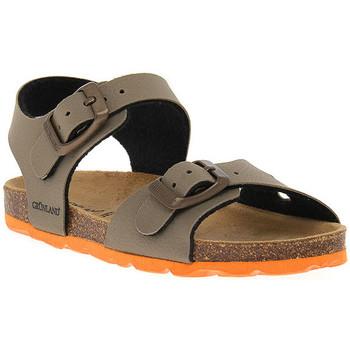 Schoenen Jongens Sandalen / Open schoenen Grunland TORTORA 40ARIA Beige
