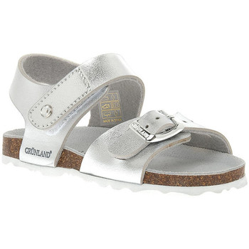 Schoenen Meisjes Sandalen / Open schoenen Grunland ARGENTO 40ARIA Grigio