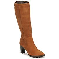 Schoenen Dames Hoge laarzen Betty London NOEME Camel