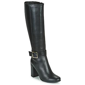 Schoenen Dames Hoge laarzen Betty London NALOU Zwart