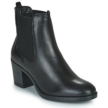 Schoenen Dames Enkellaarzen Betty London NIVISS Zwart