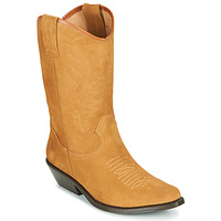 Schoenen Dames Hoge laarzen Betty London LOVA Camel