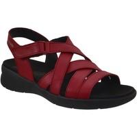 Schoenen Dames Sandalen / Open schoenen Mephisto Eliona Rood leer