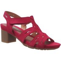 Schoenen Dames Sandalen / Open schoenen Mephisto Blanca Fluweelrood