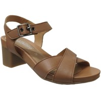 Schoenen Dames Sandalen / Open schoenen Mephisto Beline Bruin leer
