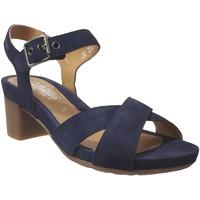 Schoenen Dames Sandalen / Open schoenen Mephisto Beline Marineblauw fluweel