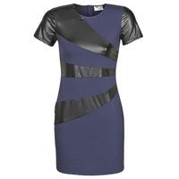 Textiel Dames Korte jurken Moony Mood NEOFORGE Marine