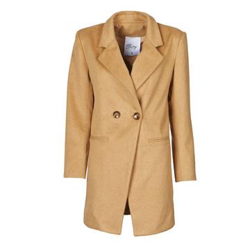Textiel Dames Mantel jassen Betty London LORDLY Beige