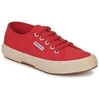 Schoenen Lage sneakers Superga 2750 CLASSIC Bruin / Rood