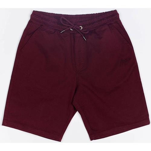 Textiel Heren Korte broeken / Bermuda's Wrung Short  Shark rouge bordeaux