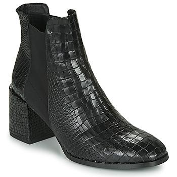 Schoenen Dames Enkellaarzen Fericelli NONUTS Zwart