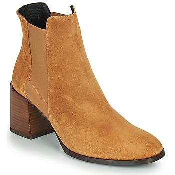 Schoenen Dames Enkellaarzen Fericelli NONUTS Camel