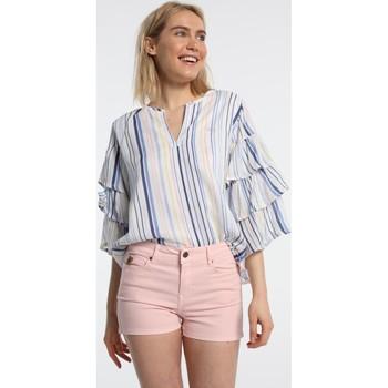 Textiel Dames Korte broeken / Bermuda's Lois Coty Short Master 531 Rose 206532506 Roze