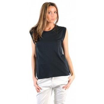 Textiel Dames T-shirts korte mouwen American Vintage TOP JAC60 CARBONE Grijs