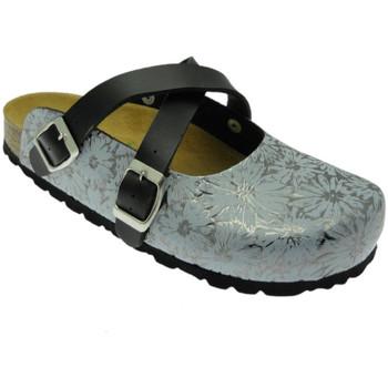 Schoenen Dames Klompen Riposella RIP29204fuc grigio
