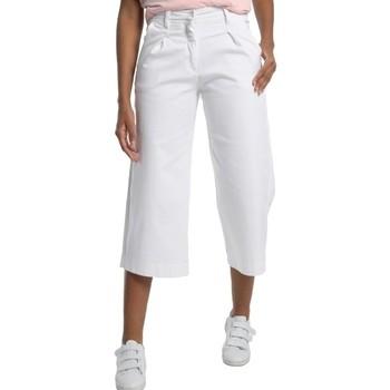 Textiel Dames ¾ jeans & 7/8 jeans Lois Pantalon Jean  Blanc Large 206982041/501 Wit