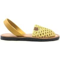 Schoenen Dames Sandalen / Open schoenen Popa California Jaune 30907 008 Geel