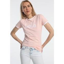 Textiel Dames T-shirts korte mouwen Lois T Shirt Rose 420472094 Roze