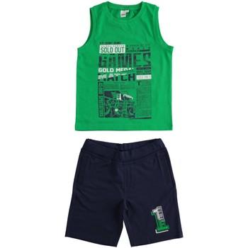 Textiel Jongens Setjes Ido 4J019 Verde/blu