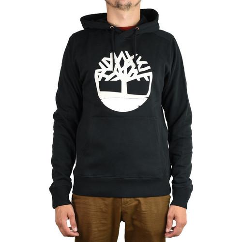 Textiel Heren Sweaters / Sweatshirts Timberland Core Logo PO Hoodie Noir