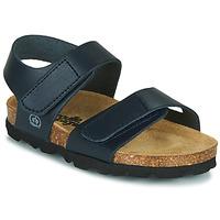 Schoenen Jongens Sandalen / Open schoenen Citrouille et Compagnie BELLI JOE Blauw