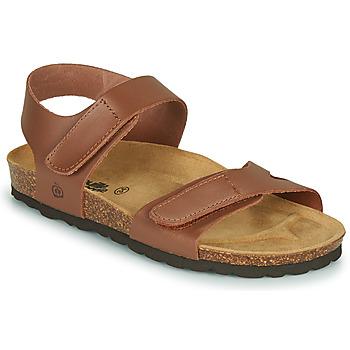 Schoenen Meisjes Sandalen / Open schoenen Citrouille et Compagnie BELLI JOE Bruin
