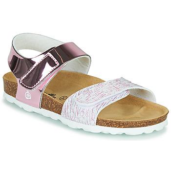 Schoenen Jongens Sandalen / Open schoenen Citrouille et Compagnie BELLI JOE Roze