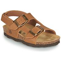 Schoenen Jongens Sandalen / Open schoenen Citrouille et Compagnie KELATU Bruin