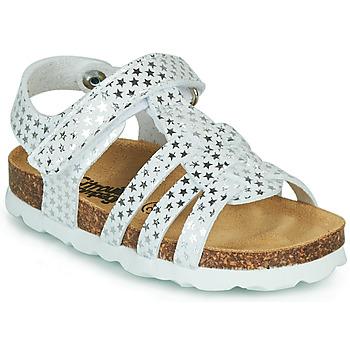 Schoenen Meisjes Sandalen / Open schoenen Citrouille et Compagnie MALIA Wit