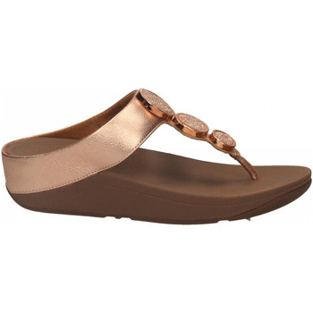 Schoenen Dames Teenslippers FitFlop HALO TM TOE THONG rose-gold