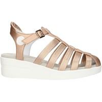 Schoenen Dames Sandalen / Open schoenen Agile By Ruco Line 210ASATSLIDE Pink