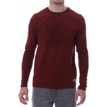 Textiel Heren T-shirts met lange mouwen Hungaria  Rood