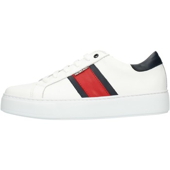 Schoenen Heren Lage sneakers Exton 861 White red and blue