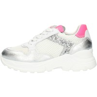 Schoenen Meisjes Lage sneakers Nero Giardini E031422F Silver