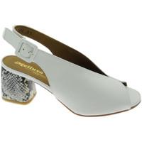 Schoenen Dames Sandalen / Open schoenen Melluso MEN622PTbi bianco