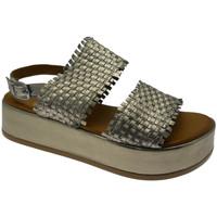 Schoenen Dames Sandalen / Open schoenen Melluso MEK56003hat marrone