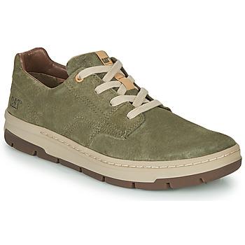 Schoenen Heren Lage sneakers Caterpillar RIALTO NUBUCK Groen