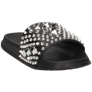 Schoenen Dames slippers Cult Cle104413 Black / Silver