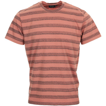 Textiel Heren T-shirts korte mouwen Paul Smith Tee Shirt Regular Fit Roze