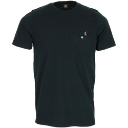 Textiel Heren T-shirts korte mouwen Paul Smith Tee Shirt Manches Courtes Poche Zwart