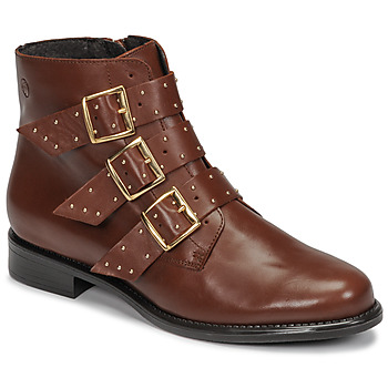 Schoenen Dames Laarzen Betty London LYS Camel