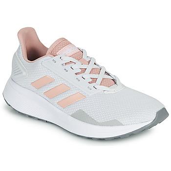 Schoenen Lage sneakers adidas Performance DURAMO 9 Grijs / Roze