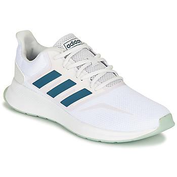 Schoenen Lage sneakers adidas Performance RUNFALCON Wit
