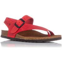 Schoenen Dames Sandalen / Open schoenen Interbios 7162 Rood