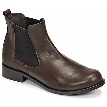 Schoenen Dames Laarzen So Size NITINE Bruin