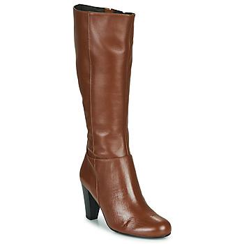 Schoenen Dames Hoge laarzen So Size ARDEIN Bruin