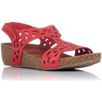 Schoenen Dames Sandalen / Open schoenen Interbios 5372 Rood
