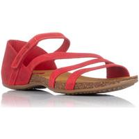 Schoenen Dames Sandalen / Open schoenen Interbios 4476 Rood
