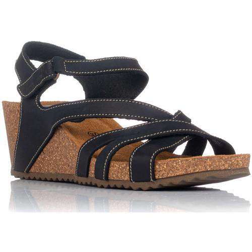Schoenen Dames Sandalen / Open schoenen Interbios 5633 Zwart