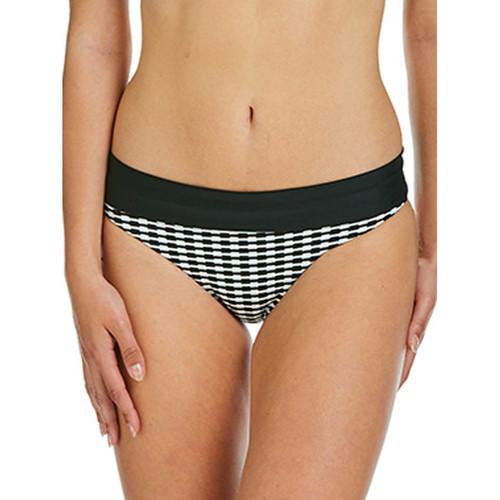 Textiel Dames Bikinibroekjes- en tops Sapph Zwembroekje met ceintuur Eva zwart-wit Parelmoer Zwart-wit